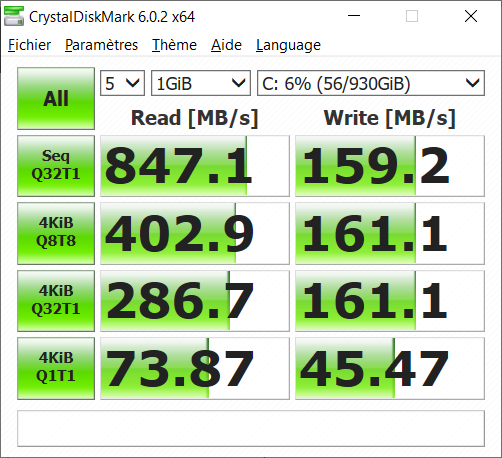 acer swift 3 benchmark ssd