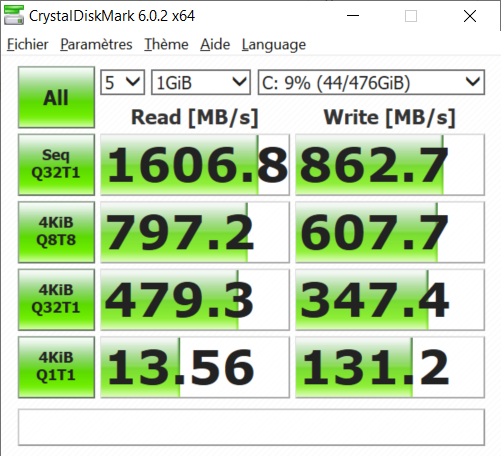 acer swift 7 ssd speed