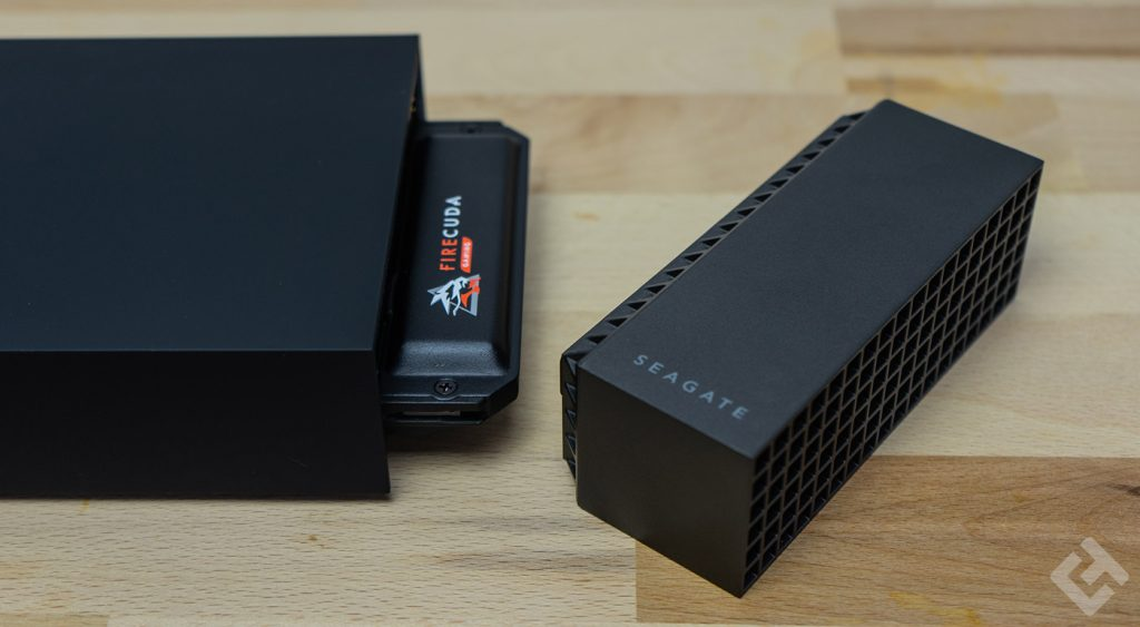 seagate gaming dock test ssd