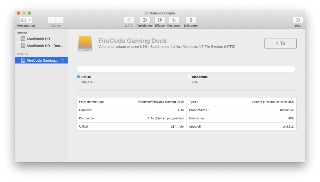 seagate gaming dock test