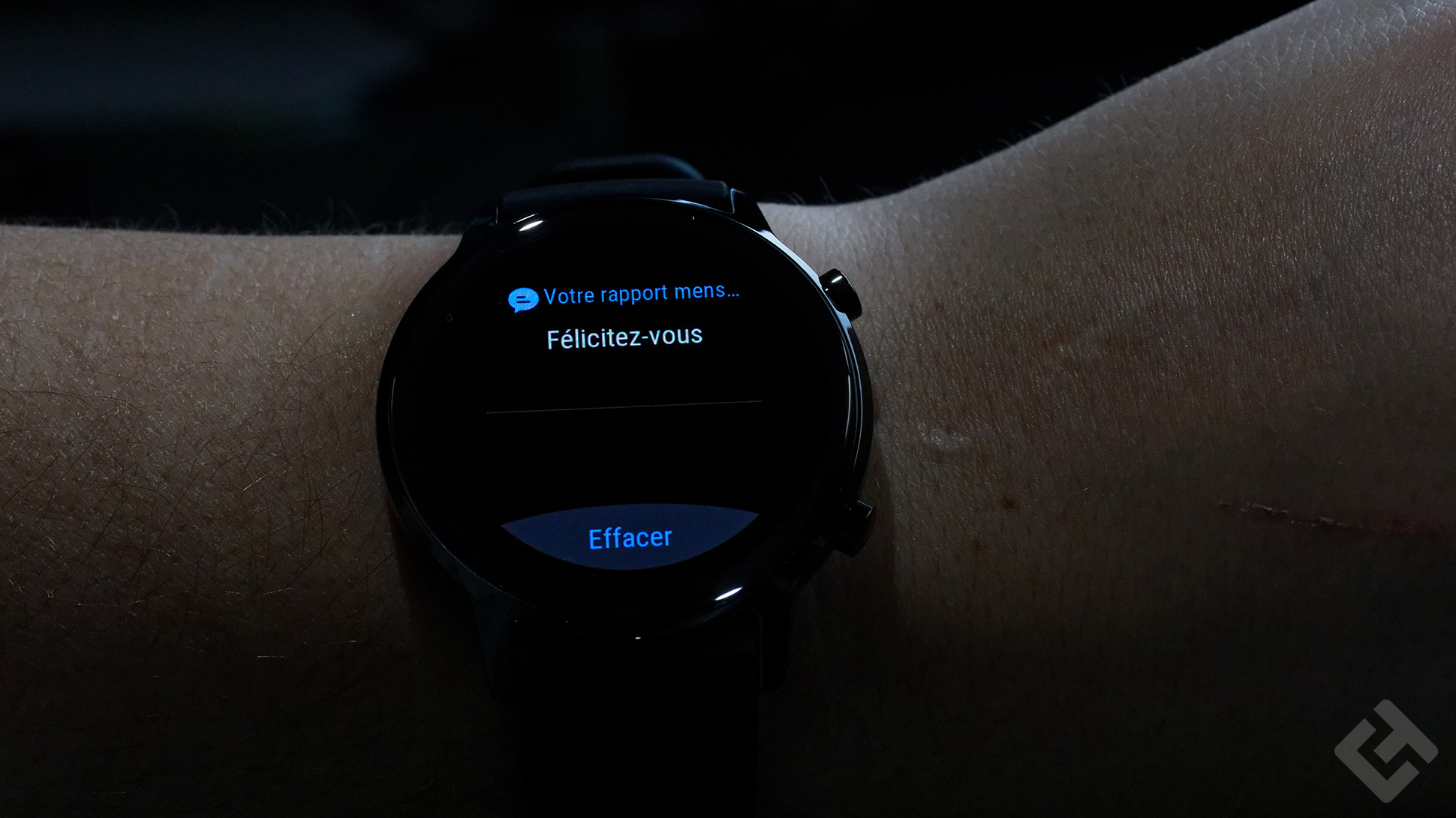Honor MagicWatch 2 - Test - Notification