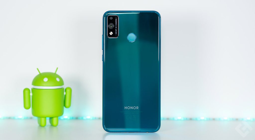 test honor 9X lite