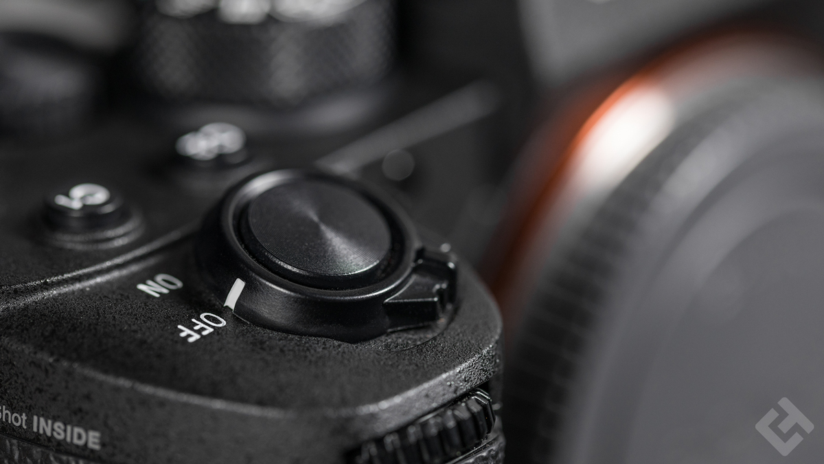 Sony A9 II - Design déclencheur