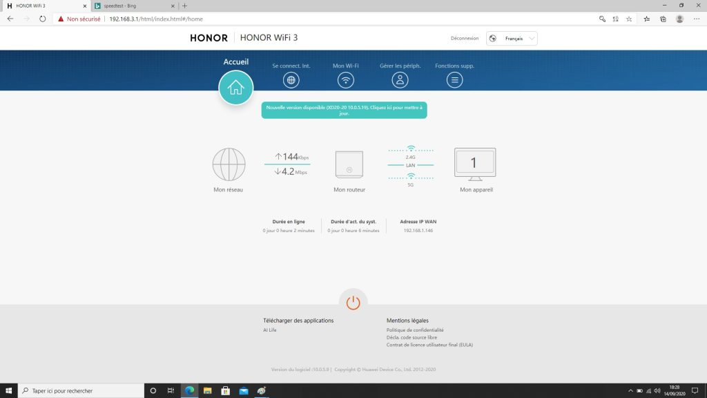 honor router 3 configuration