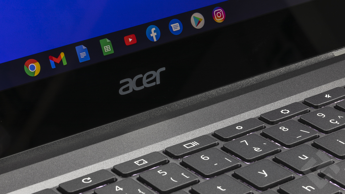 Acer ChromeBook Spin 713 - Design