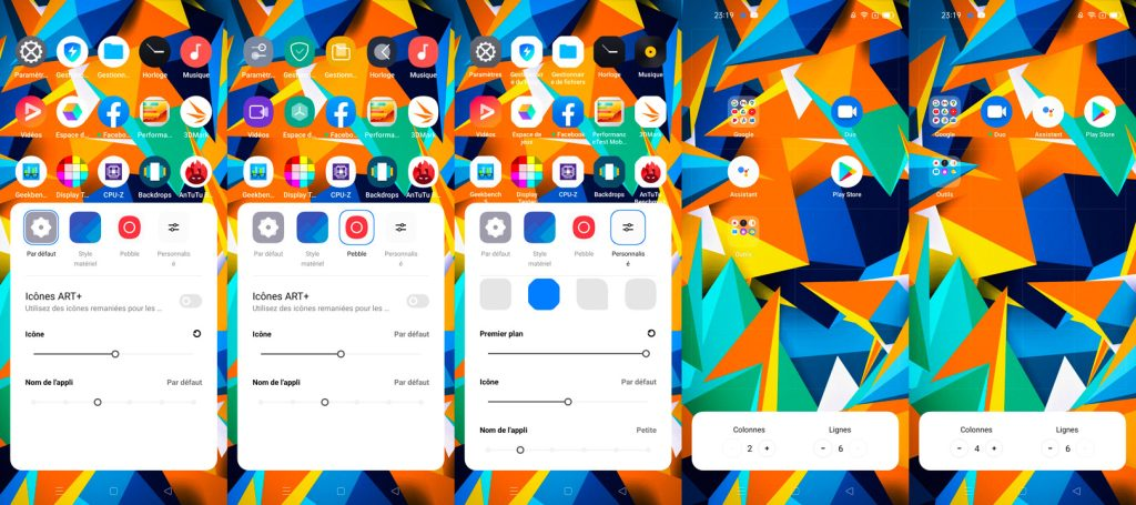realme ui 2.0 personnalisations